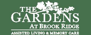 The Gardens at Brook Ridge logo