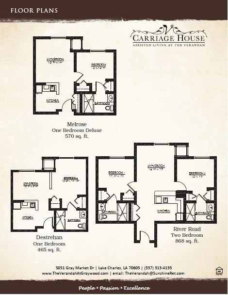 Lake Charles Louisiana Senior Independent Living Facility