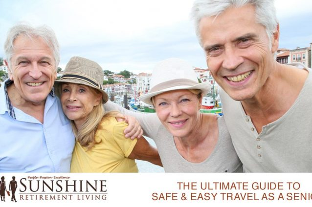 Making Travel Safe and Easy as a Senior