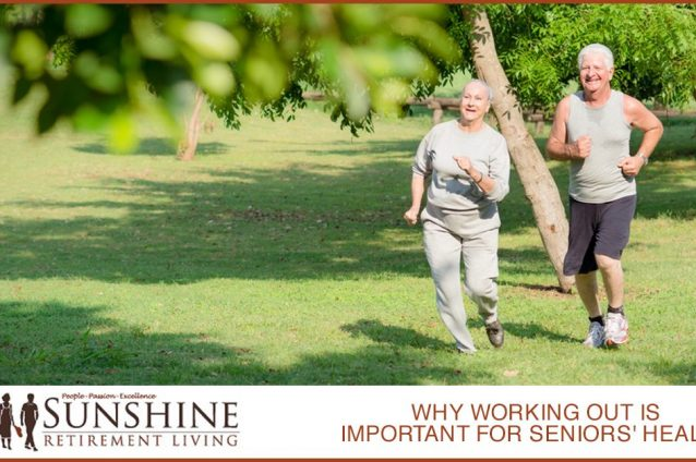 Why Working Out Is Important For Seniors' Health