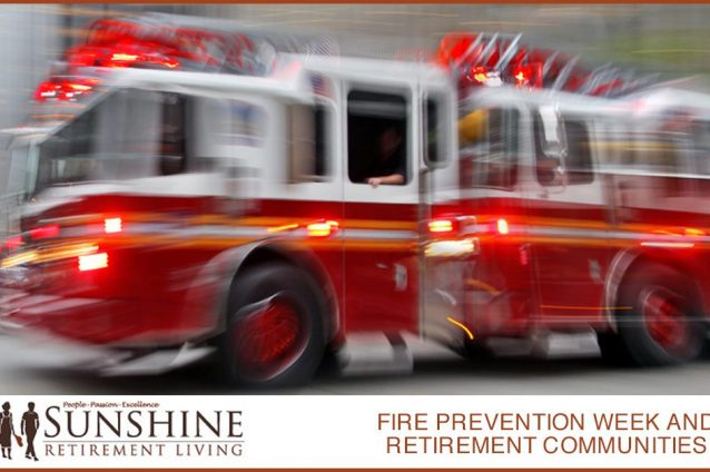 Fire Prevention Week and Retirement Communities