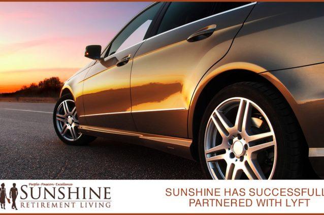 Sunshine Has Successfully Partnered With Lyft