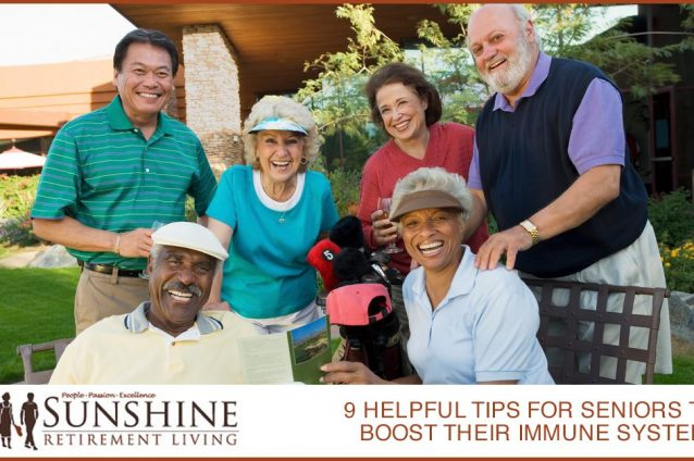 9 Helpful Tips For Seniors To Boost Their Immune System