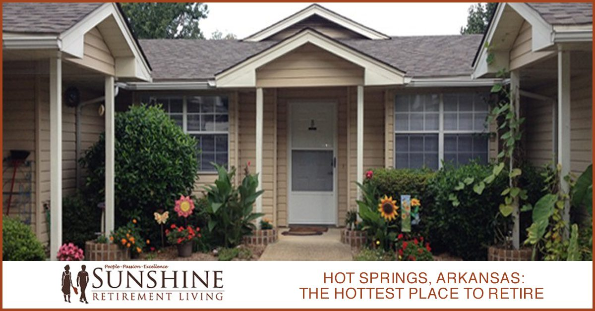 Hot Springs, Arkansas – The Hottest Place To Retire [Infographic]
