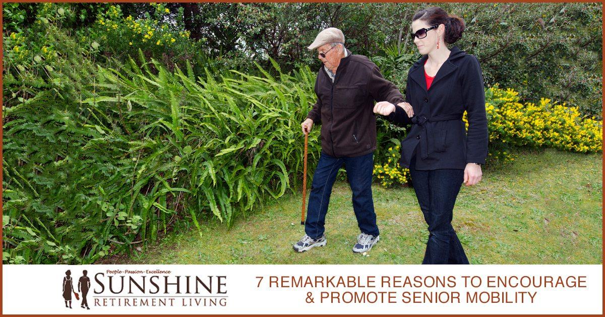 7 Remarkable Reasons To Encourage & Promote Senior Mobility