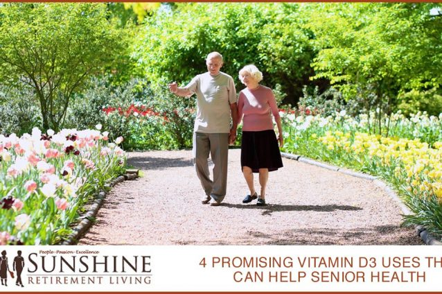 4 Promising Vitamin D3 Uses That Can Help Senior Health