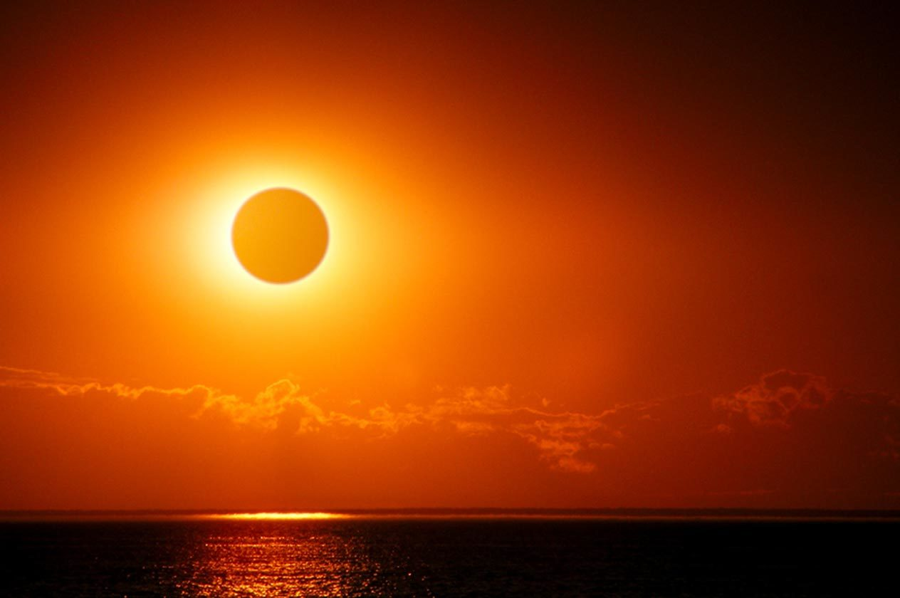 Solar Eclipse 2017 – What Some Sunshine Residents Will See When The Sun Doesn't Shine