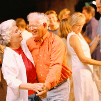 Sunshine residents cut a rug