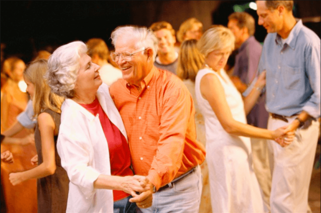 Sunshine Residents Cut a Rug to Better Health and Greater Happiness