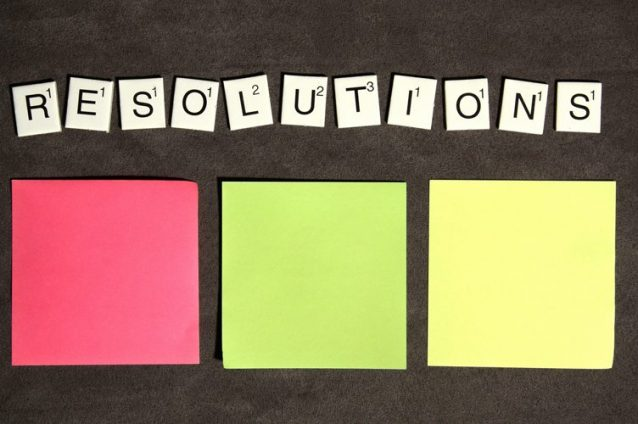 Viva la Resolution! – Setting Achievable Goals For The New Year And Sticking To Them