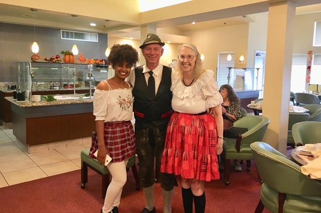 Most Sunshine Residents Agree:  Oktoberfest Ist Wunderbar!