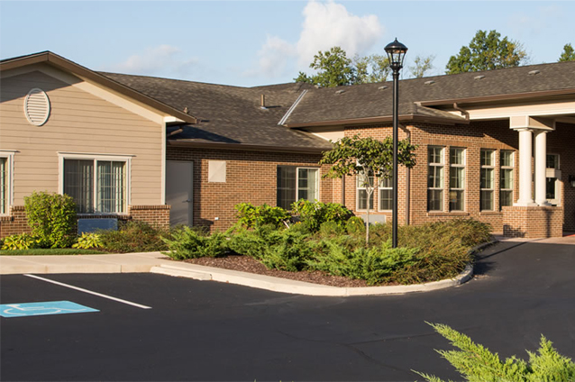 Assisted living and memory care community offers modern senior living options in Evans, Georgia