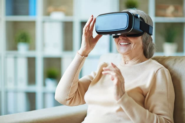 Virtual Reality Program Allows Memory Care Residents To Transcend Their Environment