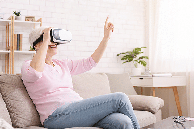 Virtual Reality Experiences Can Improve Physical and Mental Health