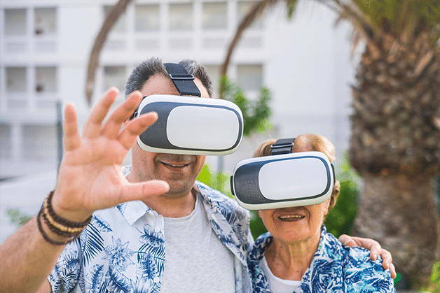With Virtual Reality Technology, Residents Can Travel Without Leaving Home