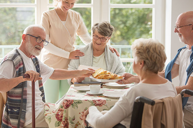 Consistent Socializing Can Help Your Loved One Stay Healthy